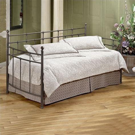 metal day bed hillsdale providence metal daybed in antique bronze finish