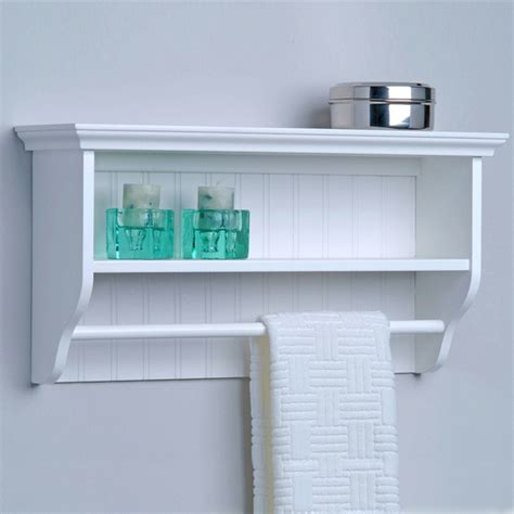 bathroom wall shelves with towel bar shelf ideas for towel storage above the toilet bathroom