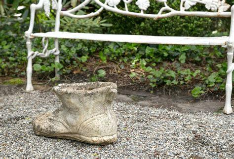 Cast Garden Planters by Vintage Cast Quot Boot Quot Garden Planter For Sale