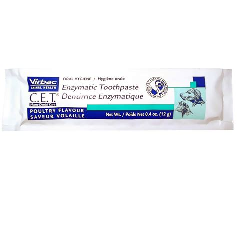 virbac cet enzymatic toothpaste dentifrice enzymatique