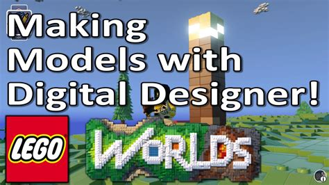 tutorial lego worlds lego worlds tutorial build your own models with digital