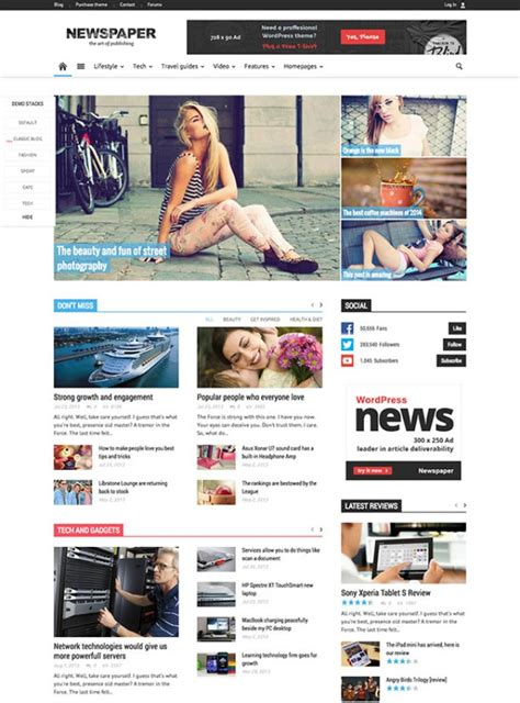 best wordpress themes newspapers 60 best adsense optimized wordpress themes for 2018