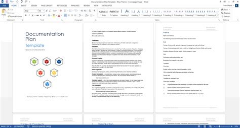 program template word 6 free word document downloads free