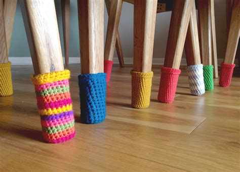 Crochet Pattern Chair Socks | chair socks protect your floors free crochet pattern