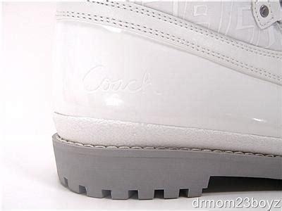 Snowball Box Winter Import Qmr6 new nib coach fur leonora signature white winter or snow boots ebay