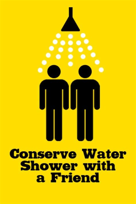 Save Water Shower With A Friend by Save Water Shower With A Friend Stuff