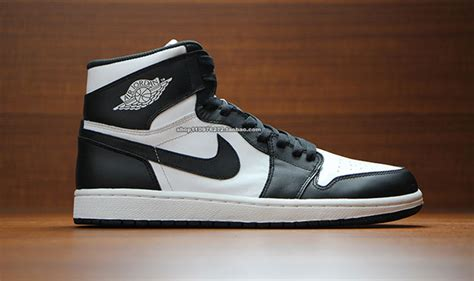 2014 basketball shoes release new air 1 cdp 2014 og high retro black white