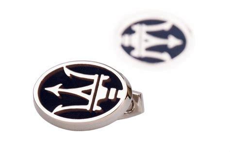 Maserati Cufflinks by Maserati Cufflinks Car Logo Mens Jewelry Silver Cuff Links
