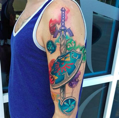 zelda tattoo cost related keywords suggestions for legend of zelda tattoos