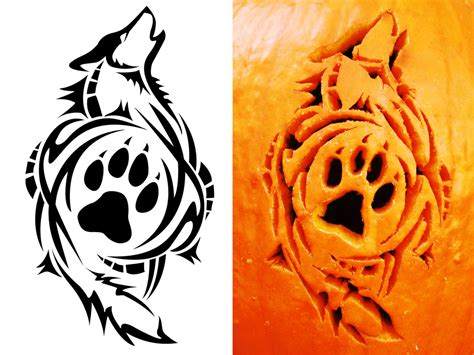 carving tattoos tribal wolf carving by satoshisdarkchan on deviantart