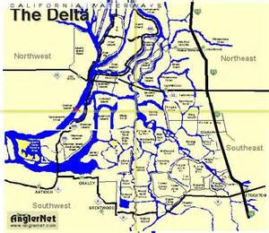 california delta fishing map 2011 documents
