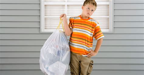 Taking Out The Trash With by Ideas On How To Get To Do Chores Without