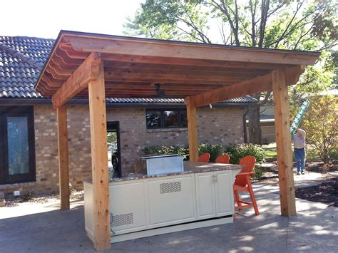 outdoor kitchen roof ideas outdoor kitchen roof
