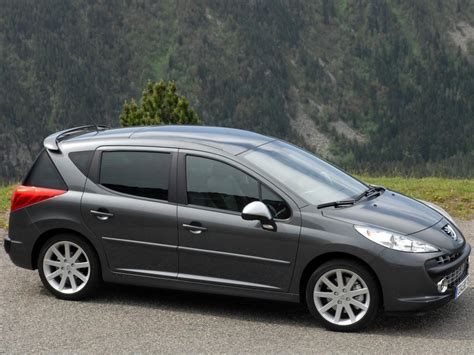 peugeot 407 wagon 2006 peugeot 407 sw pictures information and specs