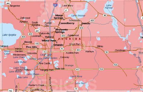 orange map trail maps wiki florida orange county
