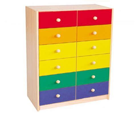 cassettiere colorate linea basic mobile cassettiera 12 cassetti pulcinodoro it