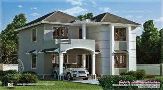 Indian Home Exterior Designs Gallery 1962 Square Feet Home Exterior Kerala Home Design And