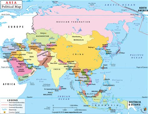 asia and america map asia political map political map of asia with countries