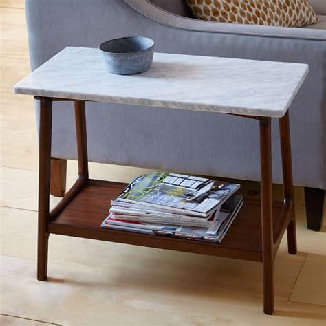 elm reeve coffee table reeve mid century side table marble elm