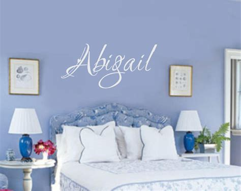 wall stickers teenage bedrooms custom name vinyl decal wall sticker words letters