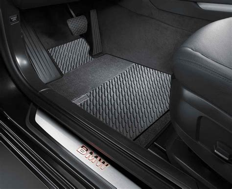 Bmw All Weather Mats by Bmw Genuine All Weather Rubber Front Floor Mats Set Black