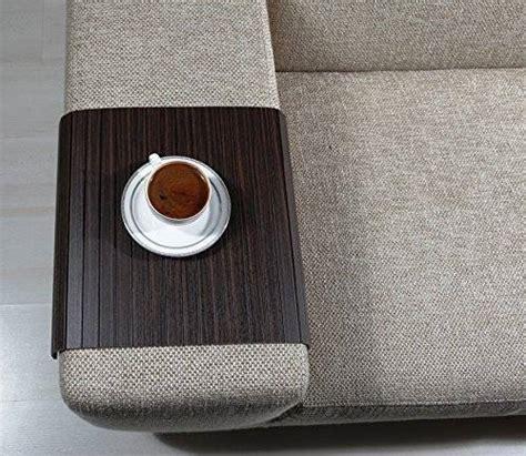 sofa tray table amazon amazon com sofa tray table zebrano tree sofa arm tray