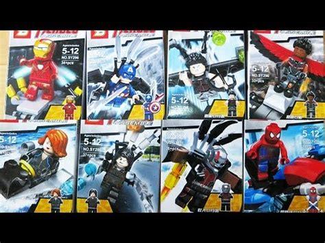 Lego Bootleg Capt America lego marvel superheroes captain america civil war sheng