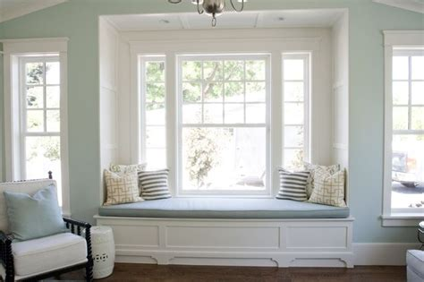 bench by window white built in window seat love adore the undressed
