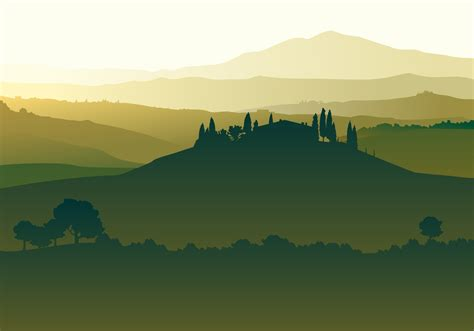 landscape  vector art   downloads