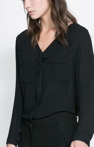 Baju Blouse Blus Zara Katun Okt 1 5 model baju zara original terbaru untuk til oke