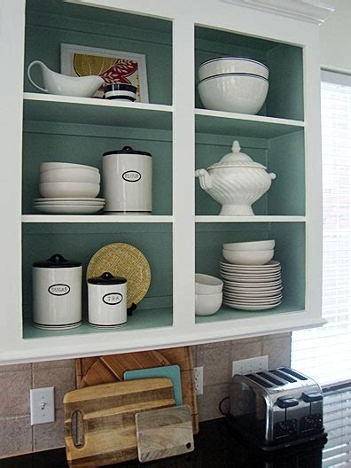 painting inside kitchen cabinets paint inside the cabinets home sweet home pinterest