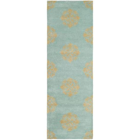 Turquoise Runner Rug Safavieh Soho Turquoise 2 Ft 6 In X 8 Ft Rug Runner Soh424a 28 The Home Depot