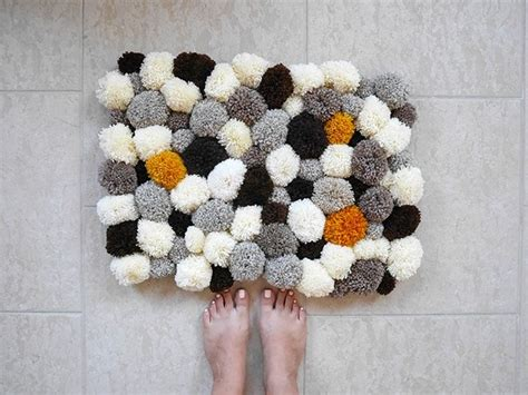 how to make a yarn pom pom rug 536 best pom poms macrame weaving tassels yarn crafts images on carpets diy
