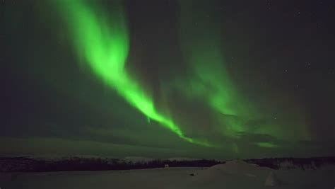 northern lights stock footage northern lights display reykjavik iceland stock