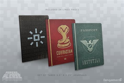 papers  passport notebooks fangamer