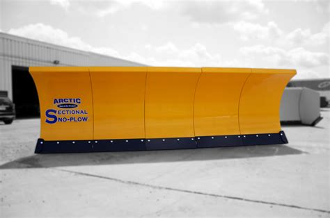 sectional sno pusher arctic snow and ice products sectional sno plow