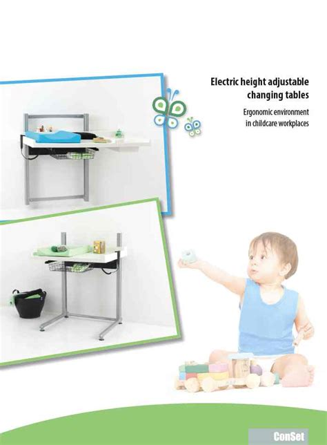 height of changing table height adjustable changing table