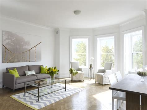 White Molding Living Room White Laminate Flooring Living Room Contemporary With