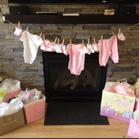 Clothesline For Baby Shower by 17 Best Images About Baby Shower On Shower