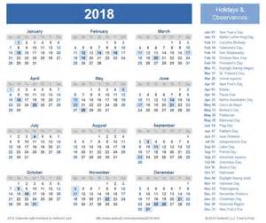 2018 Calendar South Holidays 2018 Calendar With Holidays South Africa Yearly Calendar
