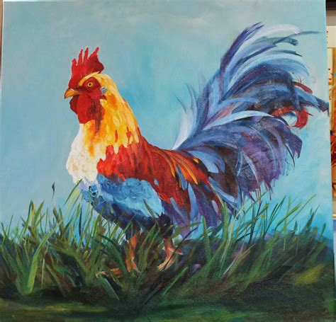 wildlife of the west mister rooster by wyne