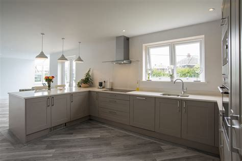 shaker kitchen shaker grey panorama kitchens