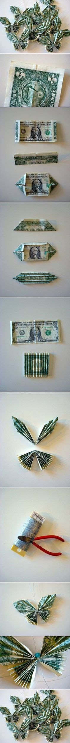 Make Paper Feel Like Money - butterfly money i wish i knew how to make this for