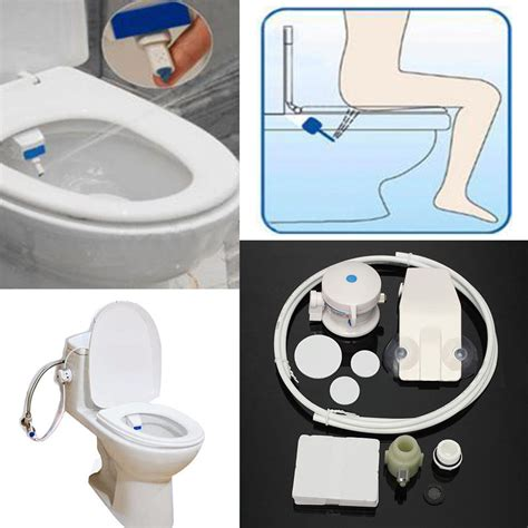 Water Toilet Bidet by Smart Hygiene Easy Toilet Bidet Seat Sprayer Water Wash