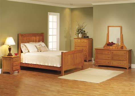 Wood Bedroom Sets Photos Elizabeth Lockwood Solid Oak Shaker Bedroom Set Bedroom Wood Furniture Designs