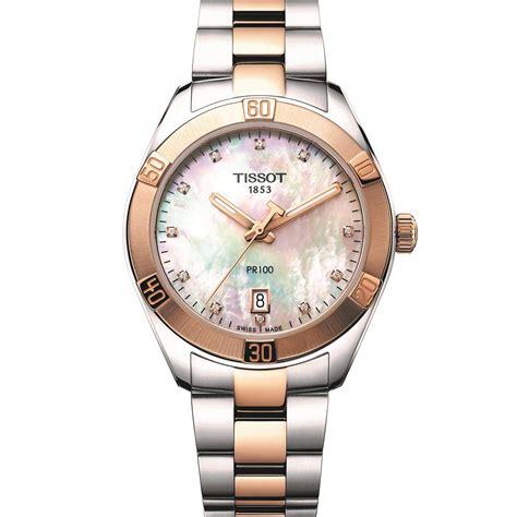 Tissot Pr 100 T1012102203100 tissot pr100 sport chic and flamingo ladies watches