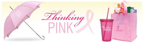Cancer Awareness Giveaways - pink promotional items for breast cancer awareness month health promotions now