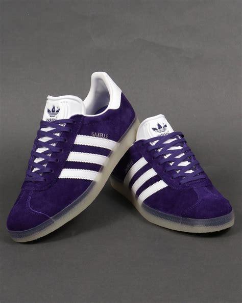 Promo Sepatu Adidas Gazele Suede Sol Gum adidas gazelle purple suede fawdingtonbmw co uk
