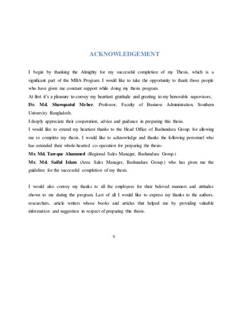 acknowledgement thesis for respondents cover pages