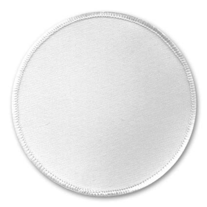 patch template circle embroidery patch mock up blank packaging